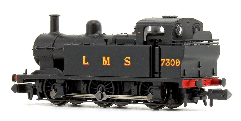 Class 3F Jinty LMS Black 0-6-0 Tank Locomotive No.7309