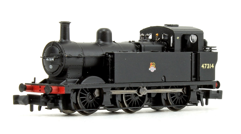 Class 3F Jinty BR Black Early Emblem 0-6-0 Tank Locomotive No.47314