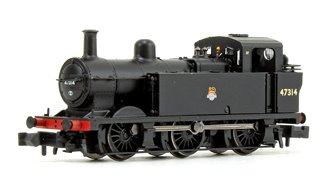 Class 3F Jinty BR Black Early Emblem 0-6-0 Tank Locomotive No.47314