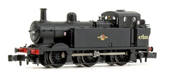 Class 3F Jinty BR Black Late Crest 0-6-0 Tank Locomotive No.47500
