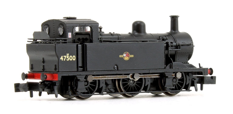 Class 3F Jinty BR Black Late Crest 0-6-0 Tank Locomotive No.47500