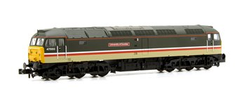 Class 47/4 47550 'University of Dundee' BR Intercity Locomotive