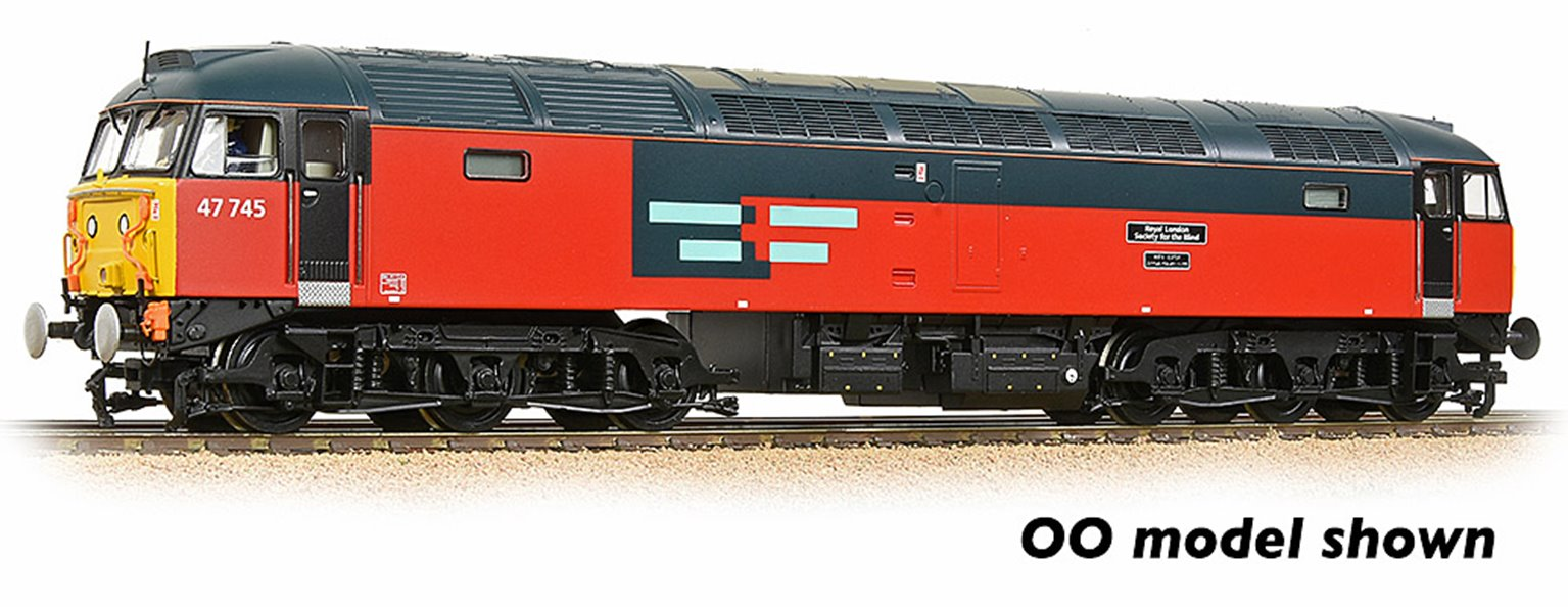 Class 47/7 47745 'Royal London Society For The Blind' Rail Express Systems