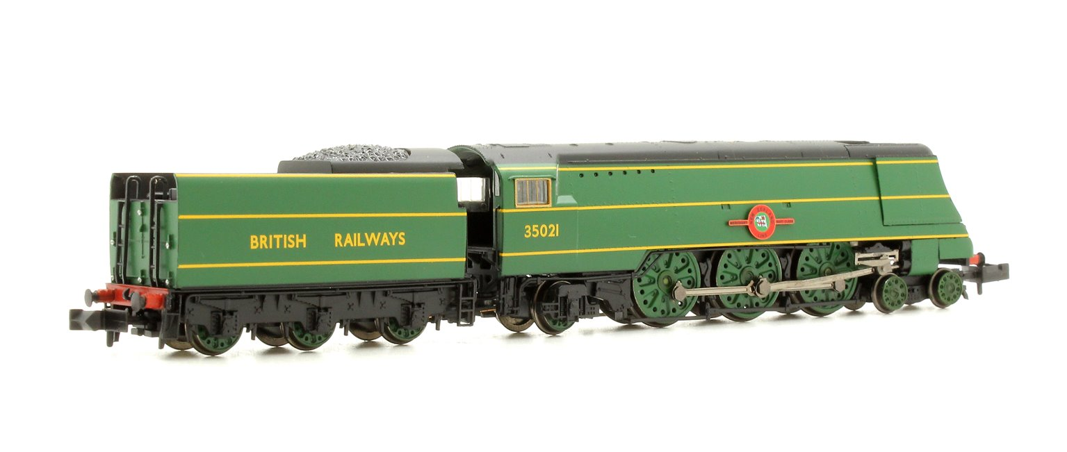 Merchant Navy Class 'New Zealand Line' #35021 BR Malachite Green