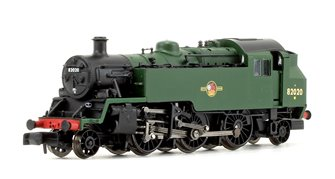 Standard Class 3MT BR Plain Green (Late Crest) 2-6-2 Tank Locomotive No.82020