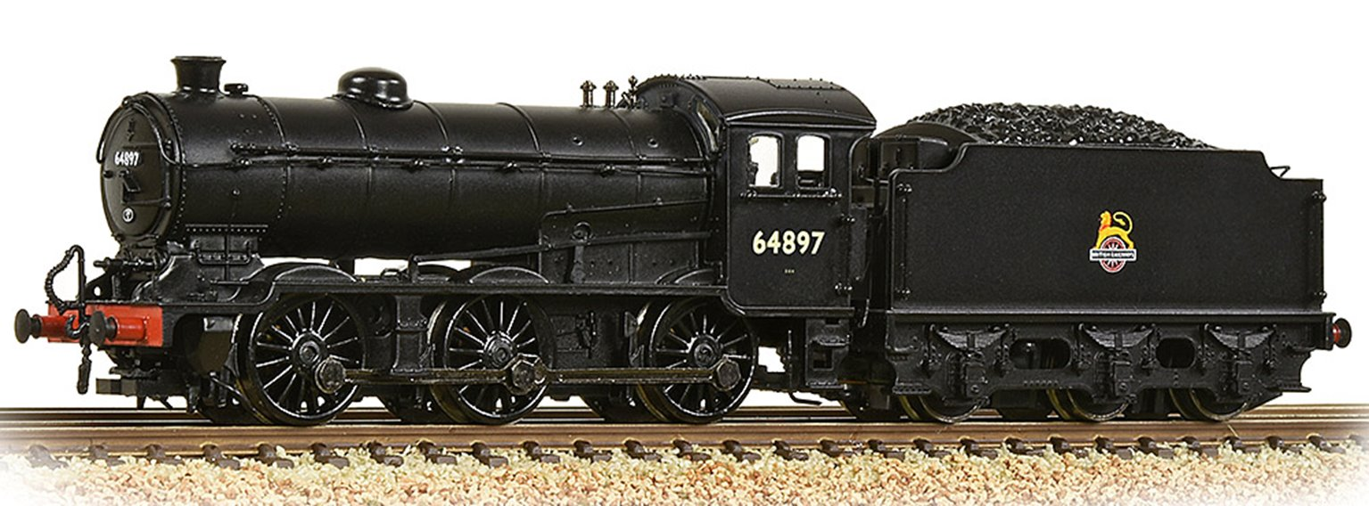 LNER J39 with Group Standard 4200 Gallon Tender 64897 BR Black (Early Emblem)