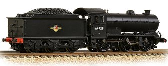LNER J39 with Stepped Tender 64739 BR Black (Late Crest)