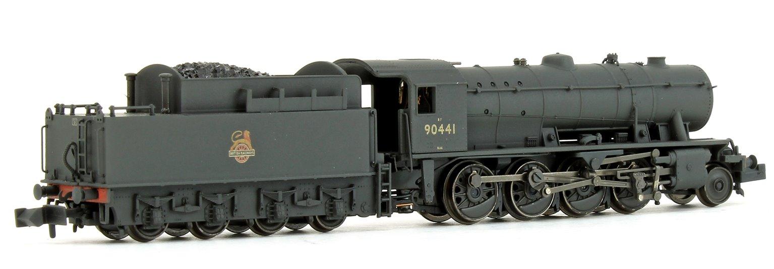 WD Austerity Class BR Black Early Emblem Weathered 2-8-0 Locomotive No.90441
