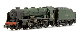 Rebuilt Royal Scot 'Royal Ulster Rifleman' #46122 BR Green Late Crest - Heavily Weathered