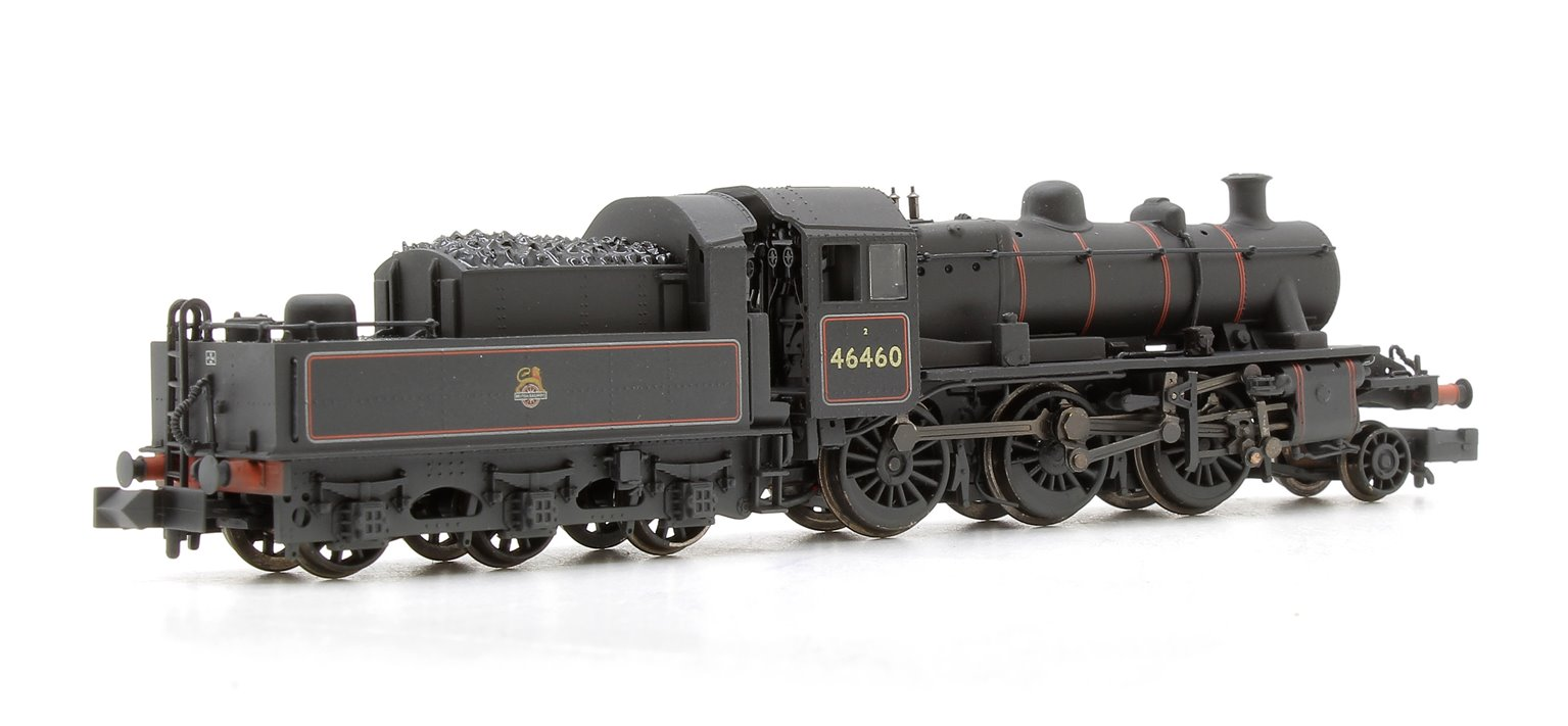 Ivatt Class 2MT BR Early Emblem Weathered 2-6-0 Locomotive 46460