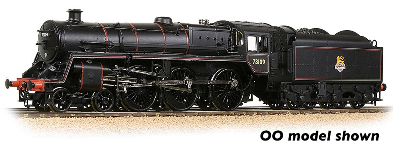 BR Standard 5MT with BR1B Tender 73109 BR Lined Black (Early Emblem)