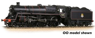 BR Standard 5MT with BR1B Tender 73109 BR Lined Black (Early Emblem)