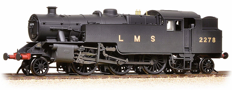 LMS Fairburn Tank 2278 LMS Black (Revised) Weathered
