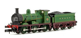 C Class 0-6-0 271 SECR Plain Green Locomotive