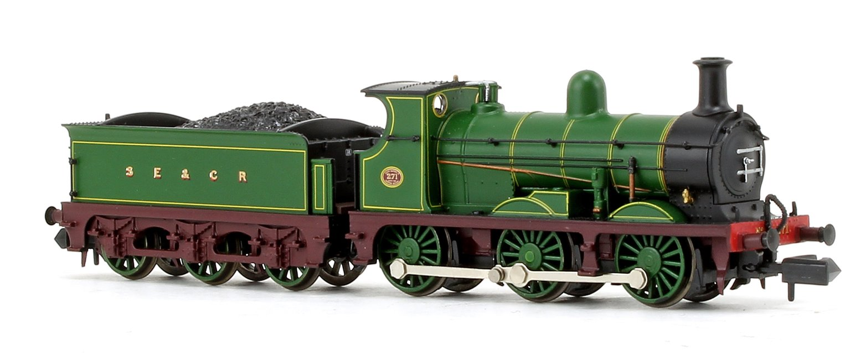 C Class 0-6-0 271 SECR Plain Green Locomotive