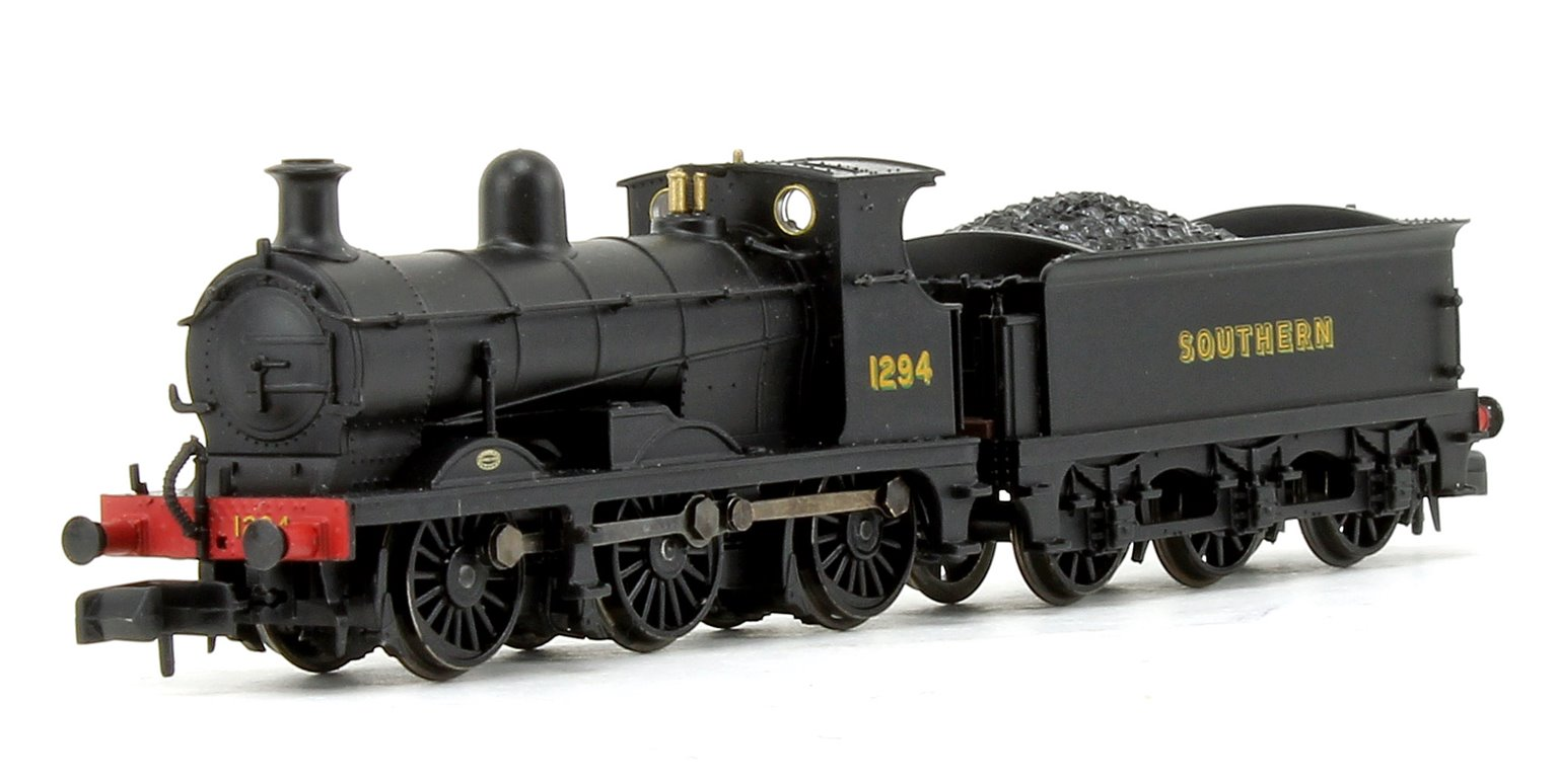 C Class 0-6-0 1294 Southern Railway Black Locomotive