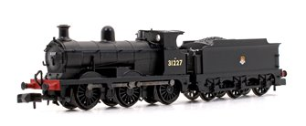 SE&CR C Class BR Black (Early Emblem) 0-6-0 Steam Locomotive No.31227