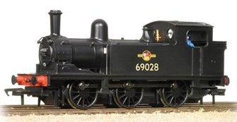 LNER J72 Class 69028 BR Black Late Crest