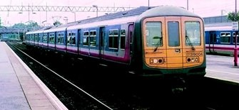 Class 319 4-Car EMU 319004 BR Network SouthEast (Revised)