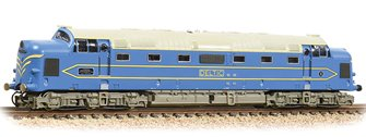 DP1 Prototype Deltic Locomotive Light Blue & Cream Demonstrator