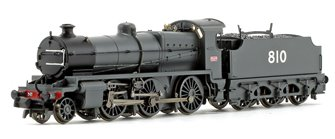 N Class SECR Grey 2-6-0 Steam Locomotive No.810