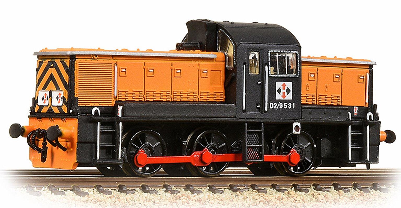 Class 14 D2/9531 NCB British Oak Orange & Black