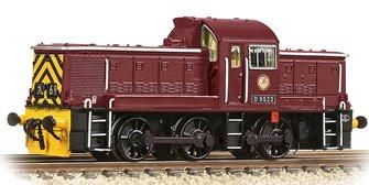 Class 14 D9523 BR Maroon (Wasp Stripes)