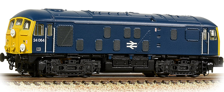 Class 24/1 24064 BR Blue Diesel Locomotive