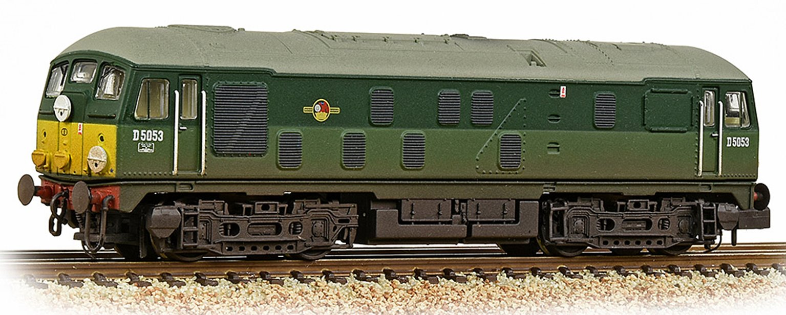 Class 24/1 D5053 BR Two-Tone Green (Small Yellow Panels) Weathered