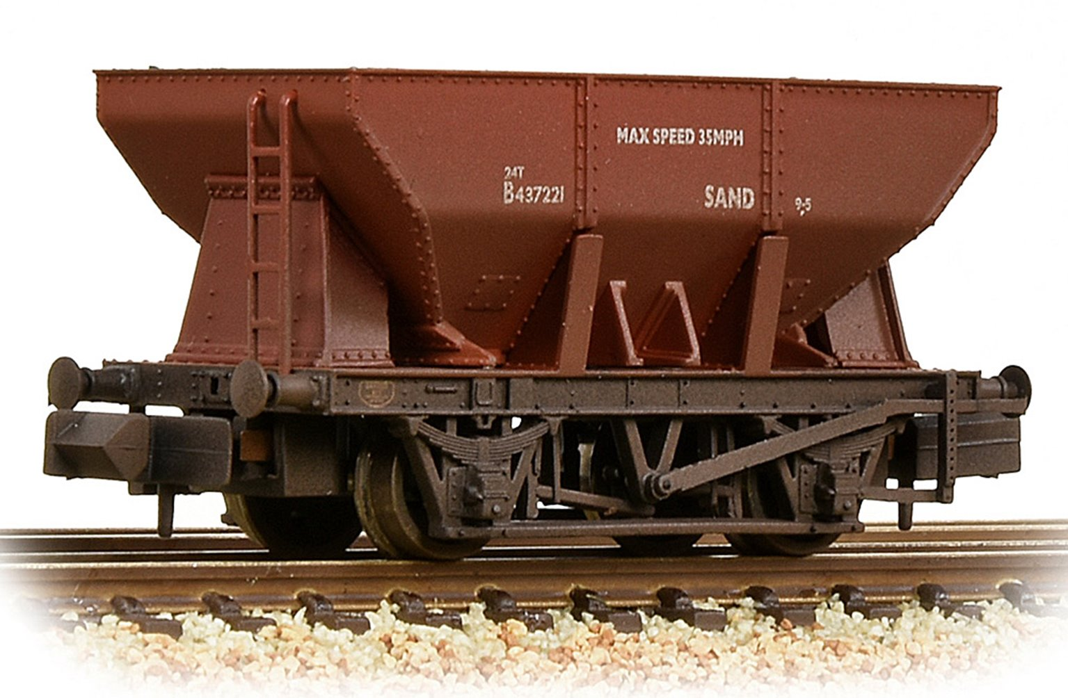 24T Iron Ore Hopper BR Bauxite (Early) Weathered