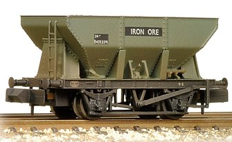 24T Iron Ore Hopper BR Grey (Early) Weathered