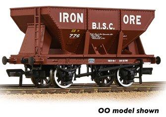24T Iron Ore Hopper 'B.I.S.C. Iron Ore' Red