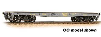 WD 40T 'Parrot' Bogie Wagon WD Grey