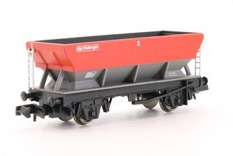 46 Tonne glw HEA Hopper Wagon Railfreight Red/Grey