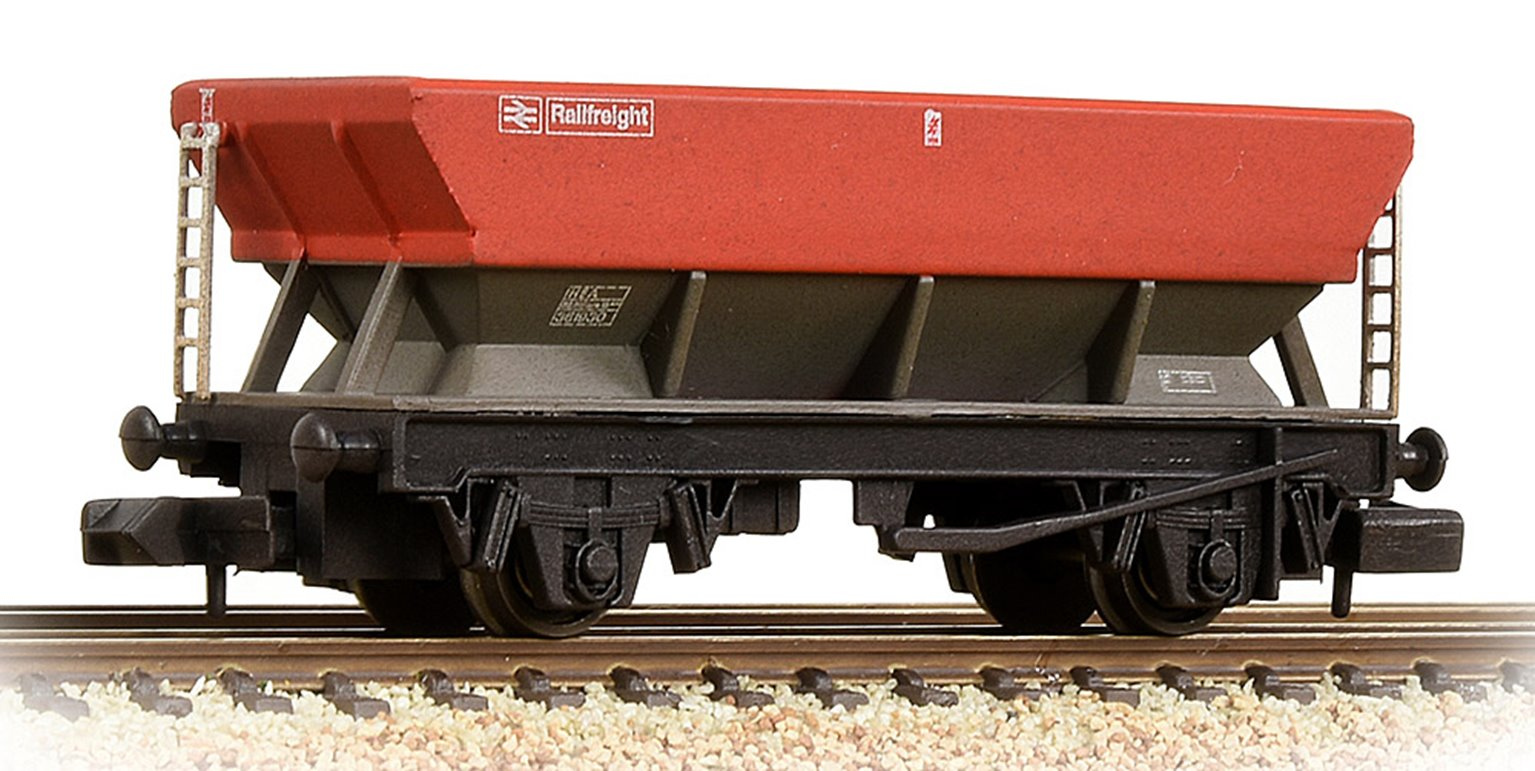 BR HEA Hopper BR Railfreight Red & Grey Weathered