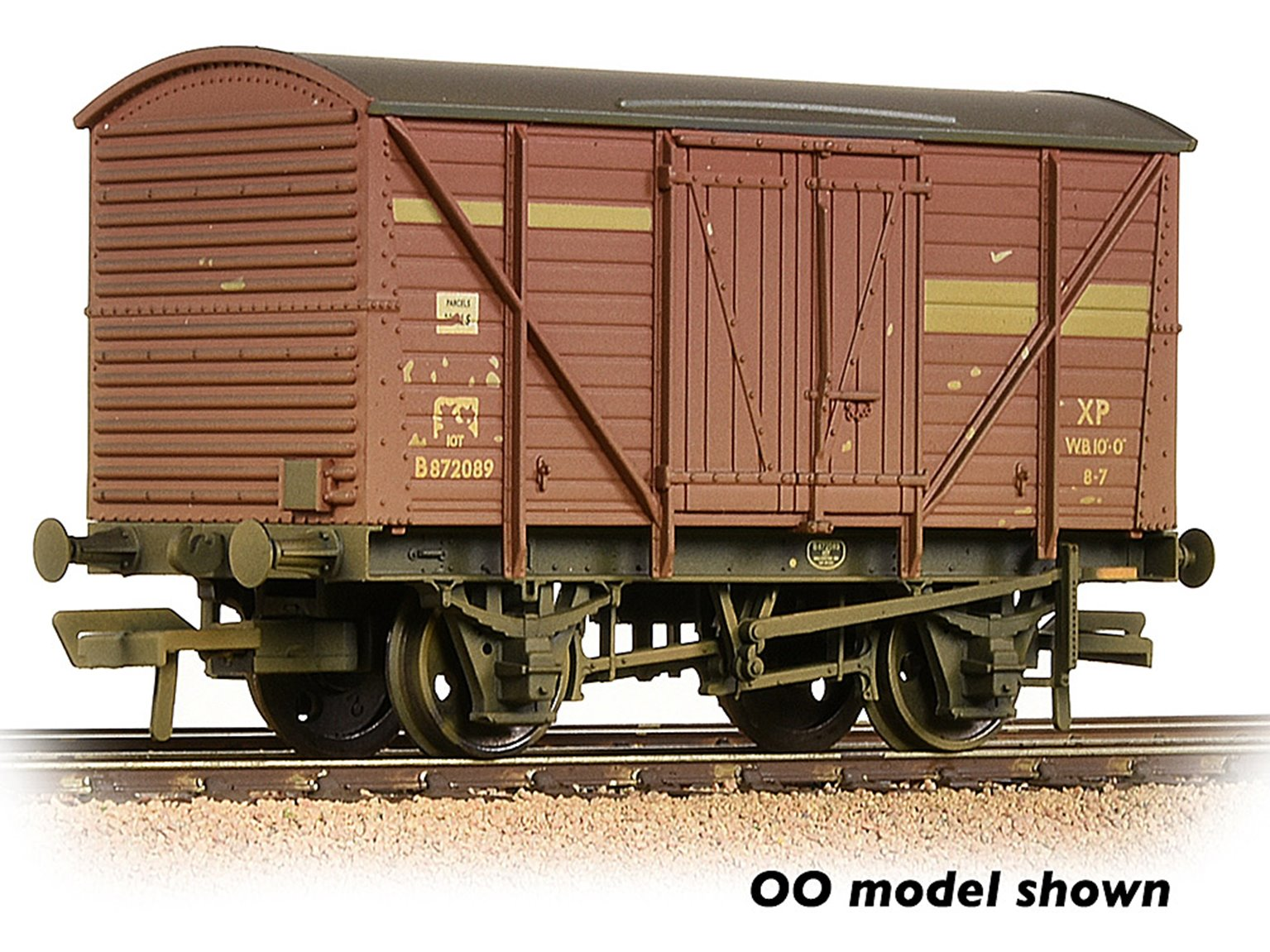 BR 10T Insulated Ale Van BR Bauxite (Early) Weathered