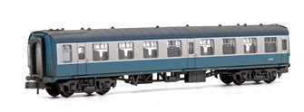 BR Mk1 TSO Tourist Second Open BR Blue & Grey No.E5057 Weathered