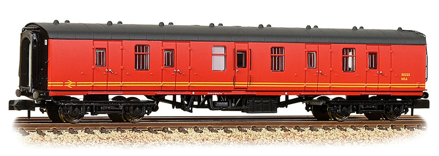 BR Mk1 BG Brake Gangwayed Royal Mail Letters