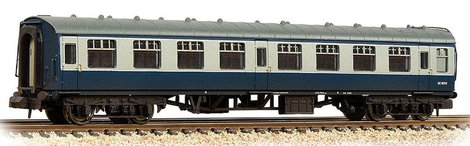 BR Mk1 SK Second Corridor BR Blue & Grey Weathered