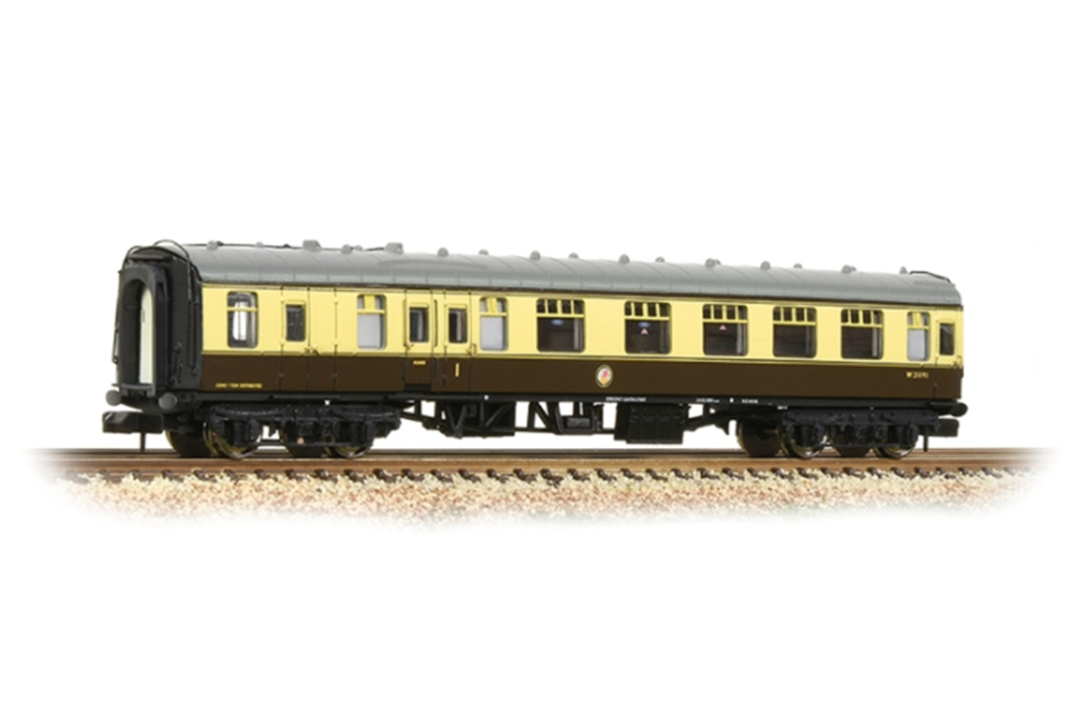 BR Mk1 BCK Brake Second Corridor Chocolate & Cream