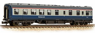 BR Mk1 RU Restaurant Unclassified BR Blue & Grey Weathered