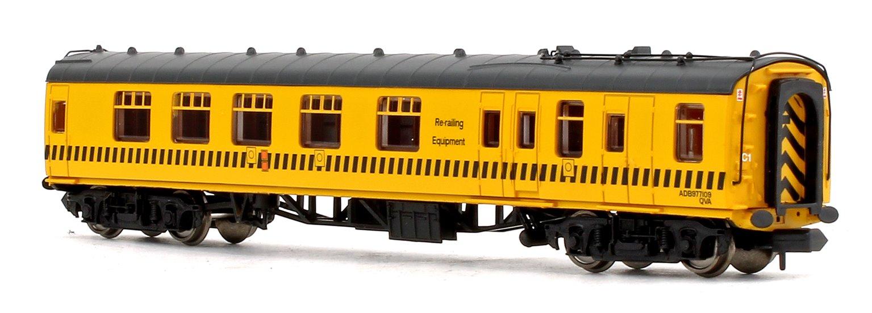 BR MK1 Departmental Yellow BSK Brake Second Corridor Coach No.ADB977109