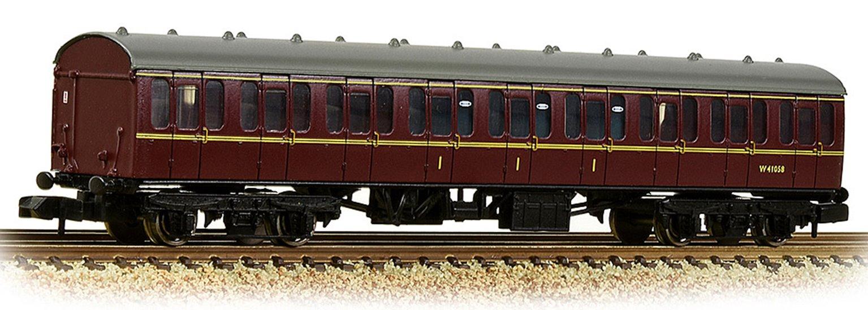 BR Mk1 57ft 'Suburban' C Composite BR Maroon