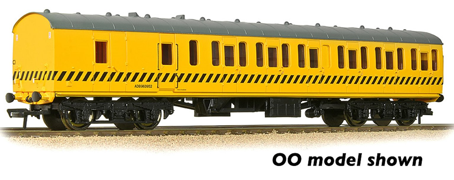 BR Mk1 57ft 'Suburban' BS Brake Second BR Departmental Yellow