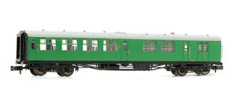 Bulleid 63ft Brake Third Corridor Open BR (SR) Malachite Green