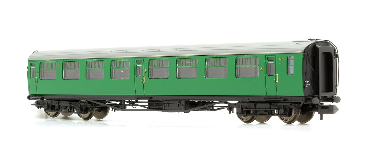 Bulleid 63ft Third Corridor BR (SR) Malachite Green