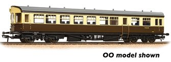 GWR Hawksworth Auto-Trailer BR (WR) Chocolate & Cream