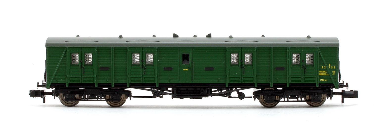 BR (SR) Green Bogie B Luggage Van #S2735
