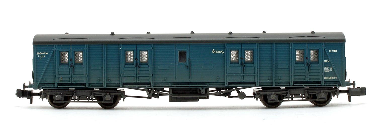 BR Blue (Weathered) NFV Bogie B Luggage Van S210