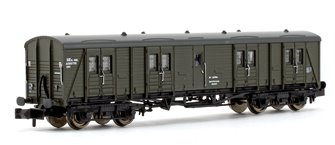 BR Departmental Bogie B Luggage Van